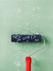Rolo Para Textura Magiefeito Adolescente Com Suporte AT1162 - Atlas