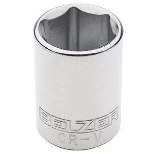 Soquete Sextavado de 15mm com Encaixe de 1/2 Pol. - Belzer