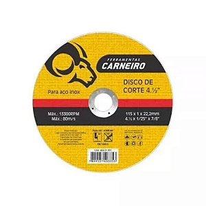 20 Discos De Corte Inox Fino 115 X 1,0 X 22,2