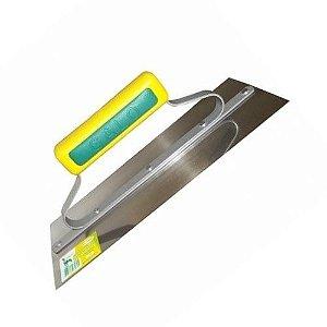 Desempenadeira em Aço Inox Para Gesso 5 Cravos - 306 Galo