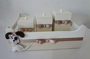 Kit Higiene Bebê Cachorrinho