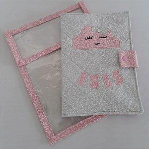 Capa para caderneta do Bebê