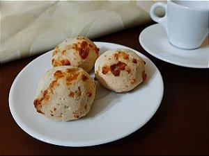 Pão de Queijo Com Batata Doce e Grãos