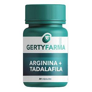 Arginina + Tadalafila - 30 Cápsulas
