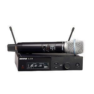 Sistema sem fio com microfone de mao Beta87A - SLXD24/B87A-G58 - Shure