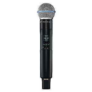 Microfone transmissor de mao sem fio - SLXD2/B58-G58 - Shure