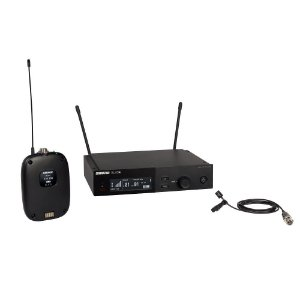 Sistema sem fio com bodypack e microfone de lapela - SLXD14/93-G58 - Shure