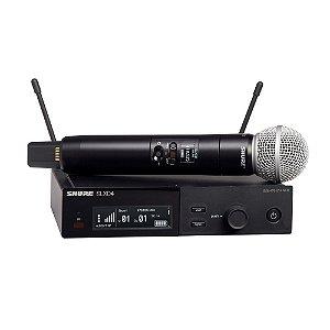 Sistema sem fio com transmissor de mao SM58 - SLXD24/SM58-G58 - Shure