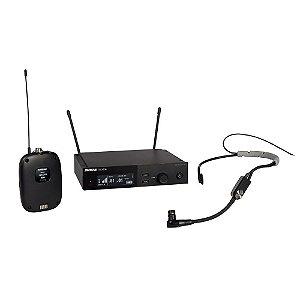 Sistema sem fio com bodypack e microfone de headset - SLXD14/SM35-G58 - Shure