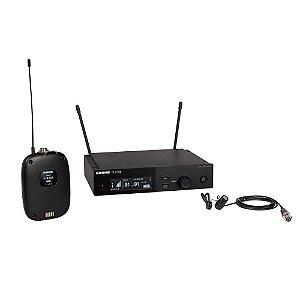 Sistema sem fio com bodypack e microfone de lapela - SLXD14/85-G58 - Shure
