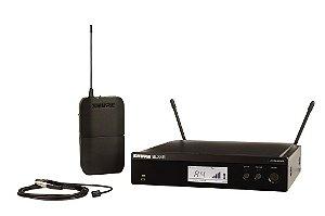 Sistema de Microfone sem fio com lapela e bodypack - BLX14RBR/W93-M15 - Shure