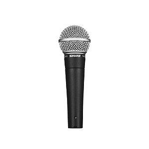 Microfone de mao dinamico unidirecional com fio - SM58-LC - Shure