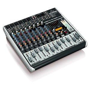 Mixer com 12 canais BiVolt - QX1222USB - Behringer