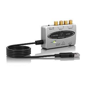 Interface de audio - UCA202 - Behringer