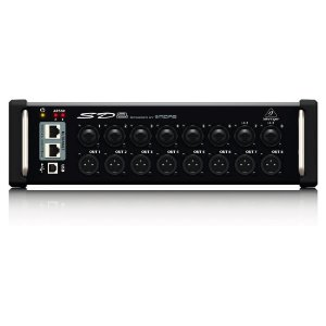 Stage Box SD8 com 8in/8out  com pre Midas - Behringer