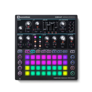 Sintetizador MIDI USB - CIRCUIT MONO STATION - Novation