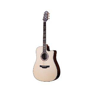 Violao Folk Cutaway T/solid Spruce B/s Rosewood Eq Lr-t Nx Gloss Stg D-20ce Crafter