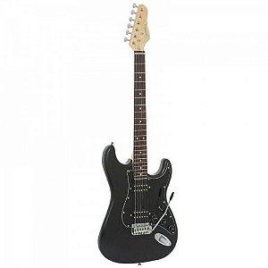 Guitarra GIANNINI Strato G-102 Preta