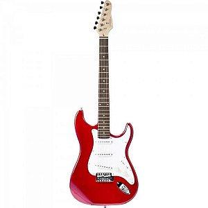 Guitarra GIANNINI Strato G-100 Vermelha