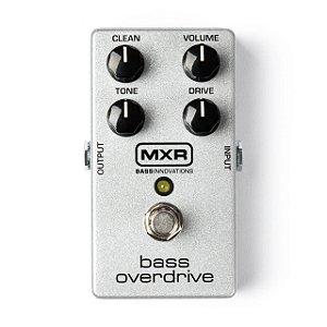 Pedal Mxr Bass Overdrive M89 Dunlop