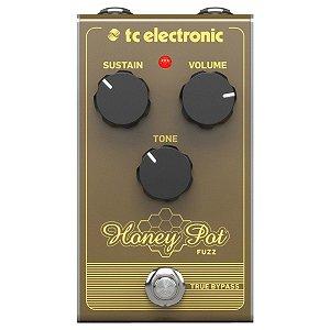 Pedal para Guitarra - HONEY POT FUZZ - TC Electronic