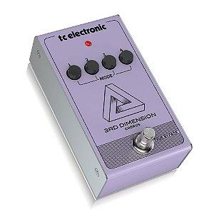 Pedal para Guitarra 3rD Dimension Chorus - TC Electronic