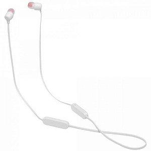 Fone de Ouvido Bluetooth Tune 125BT Branco JBL