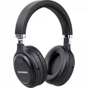 Fone de Ouvido Bluetooth Over-Ear H800ANC Preto TELEFUNKEN