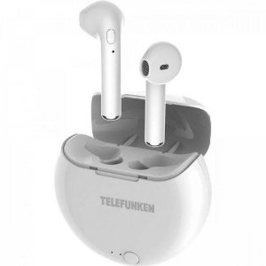 Fone de Ouvido Bluetooth Earbuds H320BT Branco TELEFUNKEN