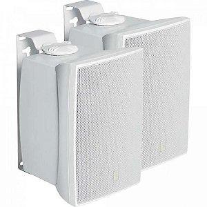 Par Caixa Acústica Som Ambiente 40W C521B Branca JBL - PAR / 2