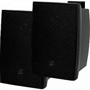 Par Caixa Acústica Som Ambiente 40W C521P Preta JBL - PAR / 2