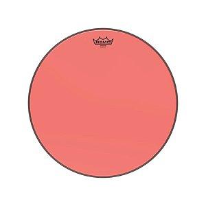 Pele 18 Pol Emperor Colortone Transparente Vermelha Be-0318-ct-rd Remo