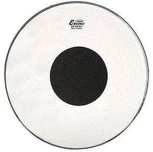 Pele Encore 20 Pol Controlled Sound Transparente C/ Circulo Preto En-1320-ct Remo