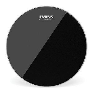 """Pele Para Caixa \u002f Tom Hidraulica Preta 12"""" Evans TT12HBG"""