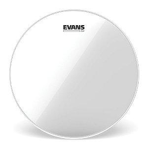 """Pele Para Caixa / Tom Genera G2 Transparente 18"""" Evans TT18G2"""