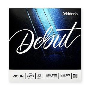 Encordoamento Violino D'Addario Debut D310 4/4M