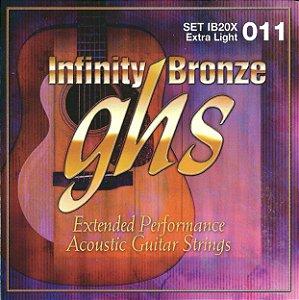 IB20X - ENC VIOLAO ACO INFINITY BRONZE 011/050 - GHS
