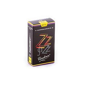 Palheta Zzjazz 2,5 P/sax Soprano Cx C/10 Sr4025 Vandoren