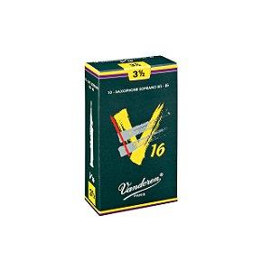Palheta V16 3,5 P/sax Soprano Cx C/10 Sr7135 Vandoren