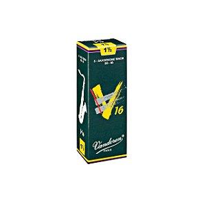 Palheta V16 1,5 P/sax Tenor Cx C/5 Sr7215 Vandoren