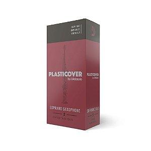 Palheta Sax Soprano 2.5 (Caixa com 5) D'Addario Woodwinds Plasticover RRP05SSX250
