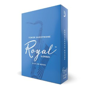 Palheta Sax Tenor 2.5 (caixa com 10) D'Addario Woodwinds Rico Royal RKB1025