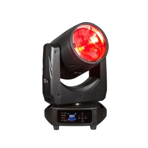 PAR MOVE X - MOVING LED COB 200W BEAM WASH C/ DISCO DE CORES - PLS PRO