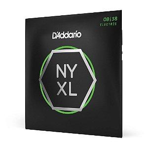 Encordoamento Guitarra .008 D'Addario NYXL0838