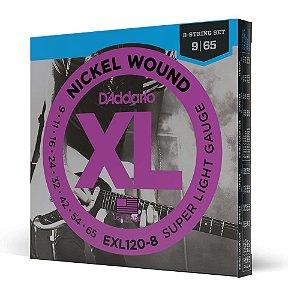 Encord Guitarra 8C .009 D'Addario XL Nickel Wound EXL120-8