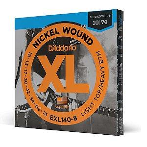 Encord Guitarra 8C .010 D'Addario XL Nickel Wound EXL140-8