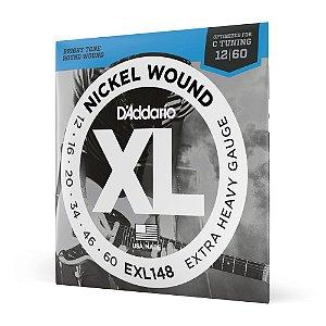 Encord Guitarra .012 D'Addario XL Nickel Wound EXL148