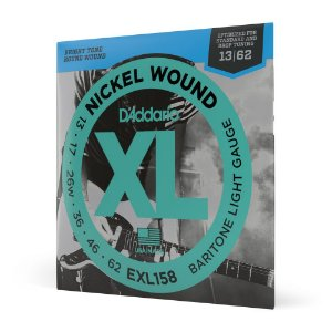 Encord Guitarra .013 D'Addario XL Nickel Wound EXL158