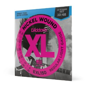 Encord Guitarra 12C .010 D'Addario XL Nickel Wound EXL150