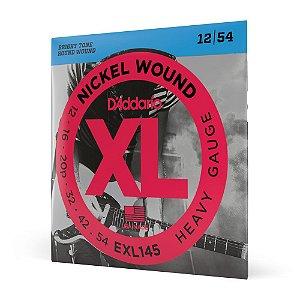 Encord Guitarra .012 D'Addario XL Nickel Wound EXL145